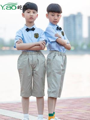 小学生男夏季校服